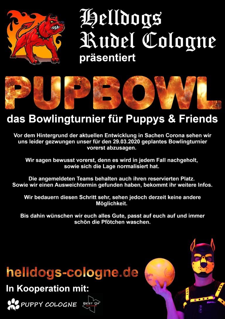 Pupbowl Absage